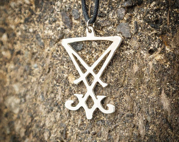 Sigil of Lucifer Pendant Necklace