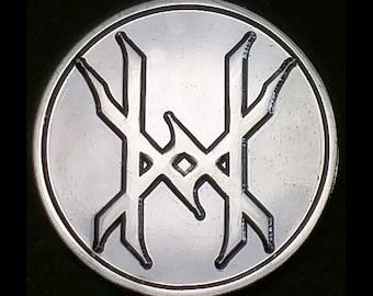 Ten Horns Sigil Lapel Pin