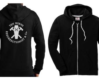 Ten Horns Resurrectionist & Co. Hooded Sweatshirt