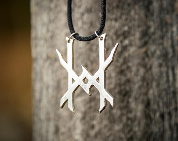 Sigil of Ten Horns Pendant Necklace