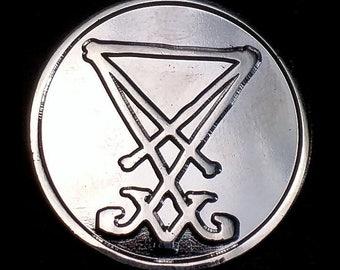 Lucifer Sigil Lapel Pin