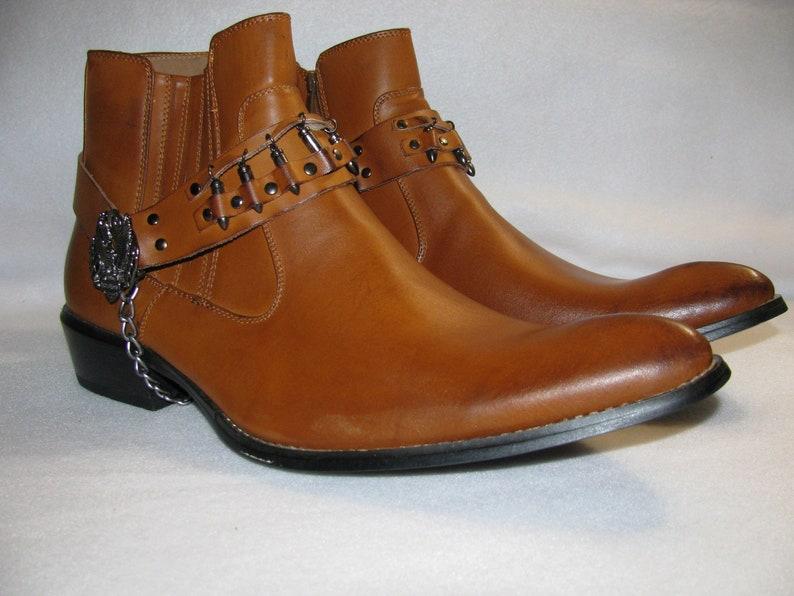 c7c64af8ae3 WILD WILD WEST Steampunk Boots sale 15.00 off New mens size 12 cosplay  biker boots Harley Davidson western boots
