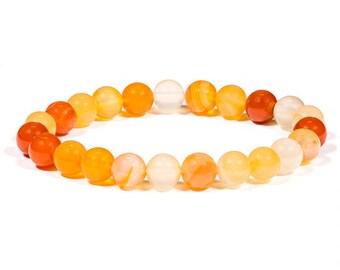 Carnelian bracelet - fertility bracelet.