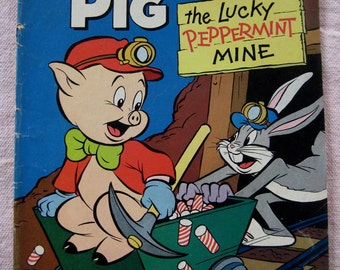 Porky Pig Comic Book, No. 3, Aug. 1965, The Lucky Peppermint Mine, Gold Key Comics