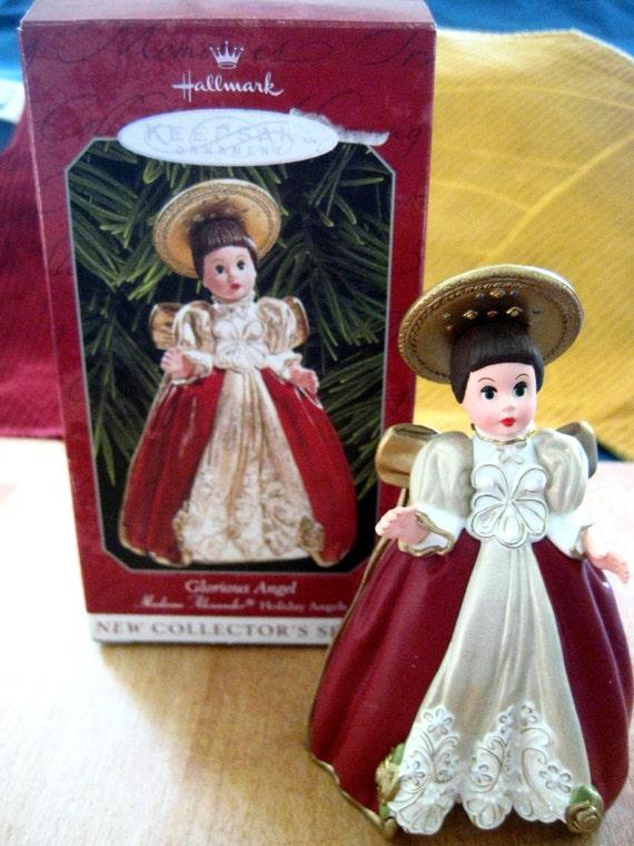 New by Madame Alexander Ultimate Angel Porcelain Trinket box