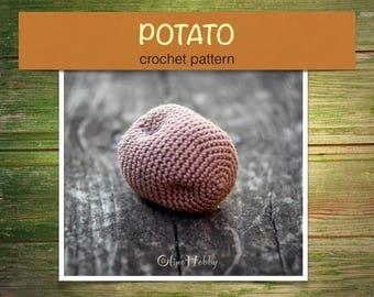 Amigurumi Food: Veggies Amigurumi Food Free Crochet Pattern | 270x340