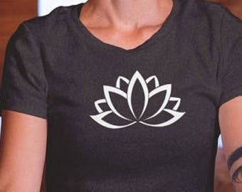 CLEARANCE Lotus Flower - Junior Fit Graphic Tee | (S-2XL)