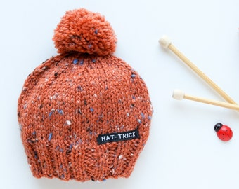 Flamingo and Toucan Men Women Knitted Hat Winter Warm Pure Color Hat