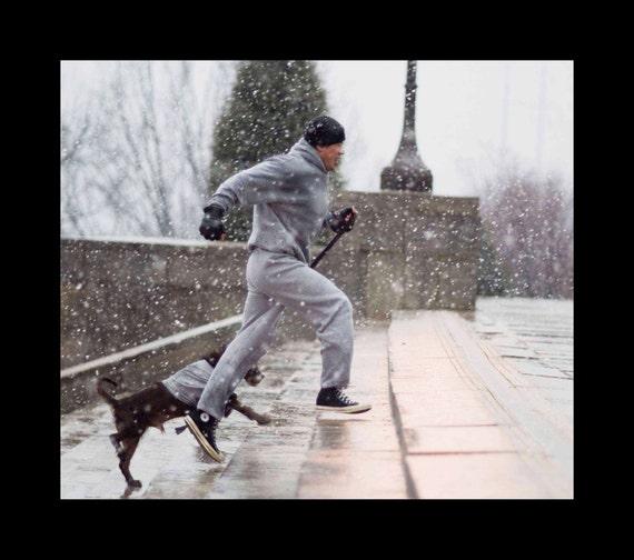 12 En Balboa Su Perro Corre Con Sube Escaleras PhiladelphiaPa Las Rocky X14 8P0OwXNnk