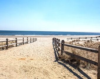 Walking Path at Ocean City Nj Beach NJ(16x24)