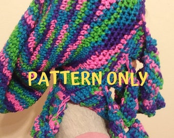 PATTERN ONLY  Crochet Octopus Hat  Minimalist Design  Crazy Hat Day  Silly  Hat  Octopus Beanie Pattern 1d1d0cea8ec3