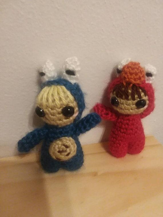 Amigurumi Pattern Only Elmo And Cookie Monster Amigurumi Doll