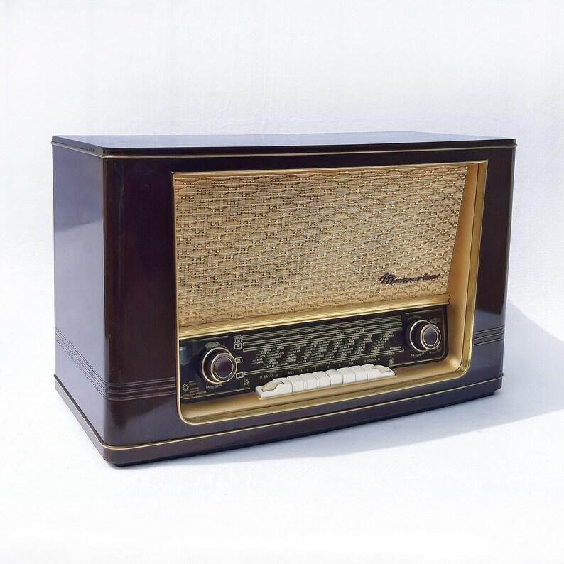 Old Tube Radio Vintage Valve Radio Retro Röhrenradio