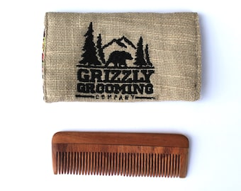 Beard Comb   Men Comb   Fathers Day Gift   Gift for Dad  Wood comb, Wooden comb   Hair Comb   Gift for Men