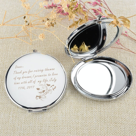 e2804969df6 Personalized Engraved Compact Mirror Pocket mirror Purse