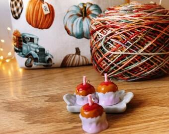 Pumpkin Spice Carmel Apple Charm