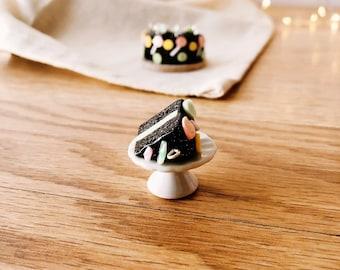 Chocolate Mint Fudge Cake
