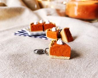 Pumpkin Pie Slice Charm