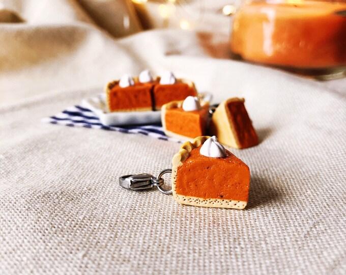 Featured listing image: Pumpkin Pie Slice Charm