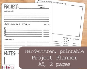 printable weekly planner daily schedule to do list etsy