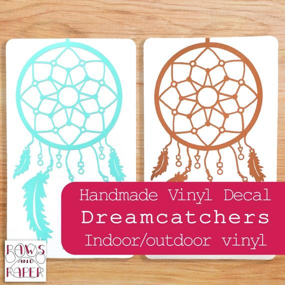 Dreamcatcher A5 stickers set decals