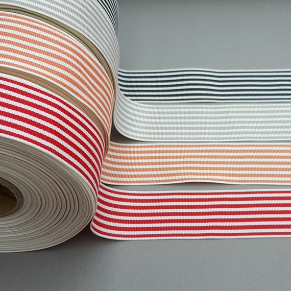 30 yard ruban rayé, 1.3» 1.3» 1.3» large bande de ruban, ruban de Polyester, ruban gros-grain, artisanat, couture, emballage cadeau, Party Supplies, couronnes, RIBBONNKIDS a73a78