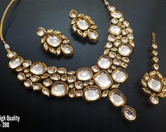 Stunning Kundan Bridal Jewellery | Kundan Bridal jewelry | Indian Bridal Jewellery | Indian Bridal Jewelry | Kundan Necklace Set