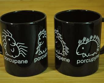 Porcupane Porcupene Porcupyne Mug