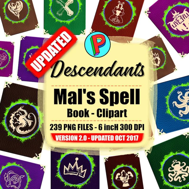 Descendants Mal Spellbook — BCMA