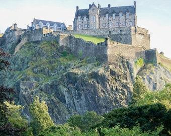 Edinburgh Print- Scotland Print, Edinburgh Art, Edinburgh Castle, Home Decor Wall Art, Edinburgh Photography, Edinburgh Photo Print