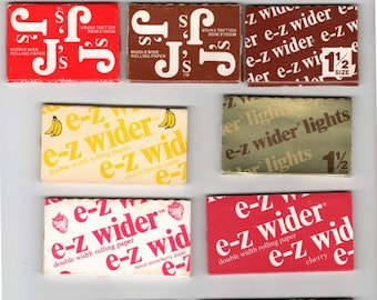 EZ Wider Collection - 25 Different Cigarette Rolling Papers