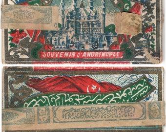 Souvenir D' Andrinople - Ottoman Cigarette Rolling Papers 1916.