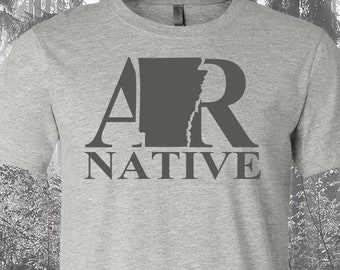 Arkansas Native Shirt, Native Arkansas Shirt, Arkansas Shirt, AR Shirt, Arkansas State Shirt