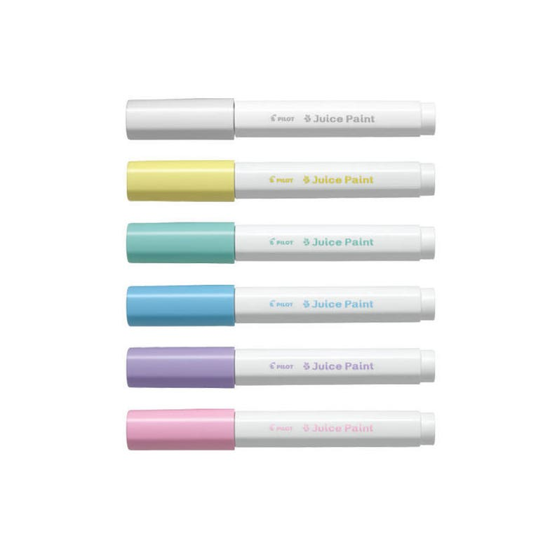 White Ink Pilot Super Color SC-W-EF Extra Fine Tip Paint Marker