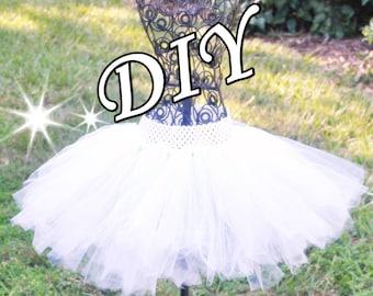 Angel tutu dress etsy diy angel bride tutu kit in white for sassy skirt girls teens teenagers solutioingenieria Choice Image