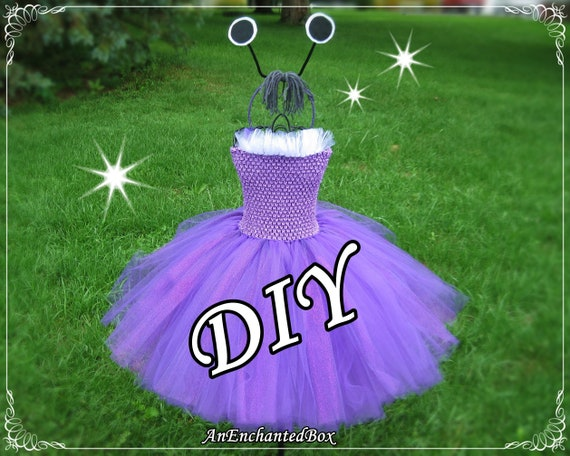 Diy Boo Monster Inc Costume Inspired Kit Princess Dress For Etsy