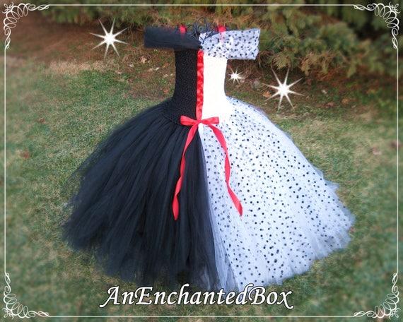 Cruella De Ville Tutu Dress