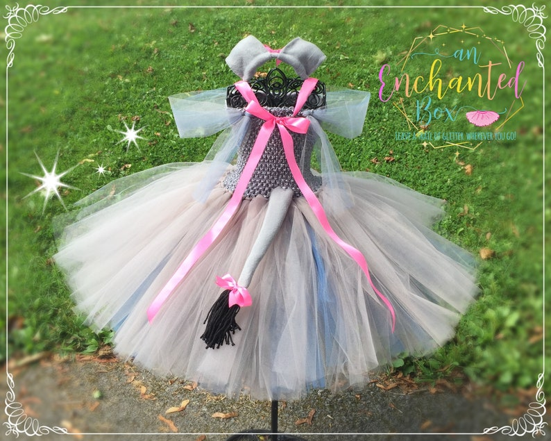 5 Winnie the Pooh Eeyore Tigger READY to SHIP Piglet Inspired Gown for Girls 4 Dressup Dress Up 3 age 2 Tutu Costume Costume 6