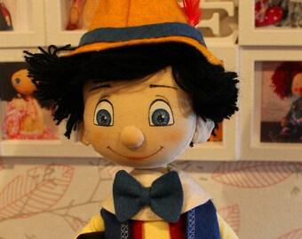 Pinocchio doll (Pinokio)