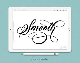 Procreate Brush: Smooth Brush