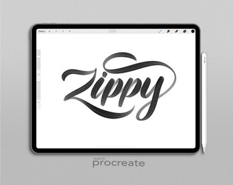 Procreate Brush Zippy Brush