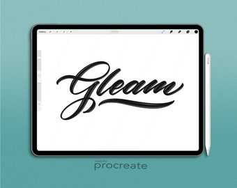 Procreate Brush: Gleam Brush,