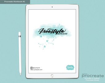 Freestyle Lettering Workbook #3