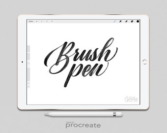Procreate Brush: Brush Pen