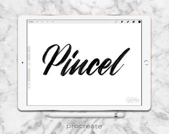 Procreate Brush: Pincel