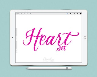 Procreate Brush Set Heart