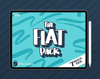 NEW! The Flat Pack for Procreate