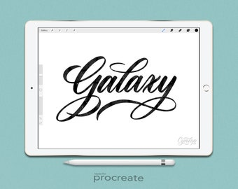 Procreate Brush : Galaxy Brush