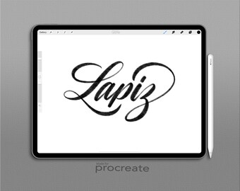 Procreate Brush: Lapiz