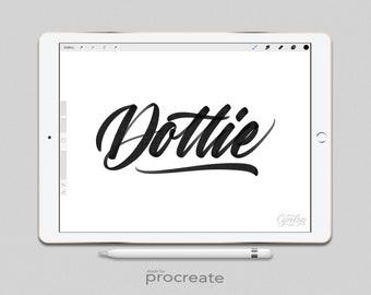 Procreate Brush : Dottie